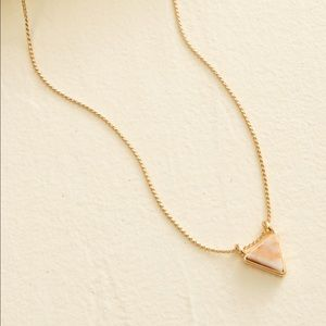 Geo Necklace, Triangle